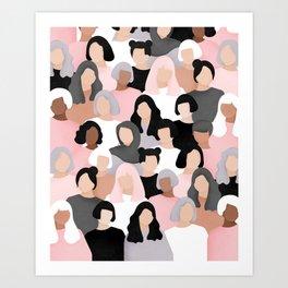 All of us Art Print