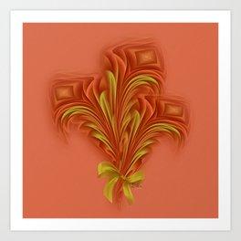 Color Meditation - Orange  Art Print