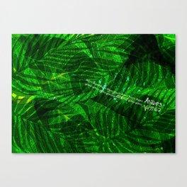 Leaves V12 Canvas Print