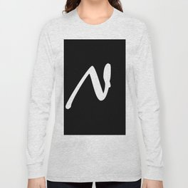Alphabet ...N Long Sleeve T-shirt