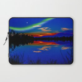 North light over a lake Laptop Sleeve