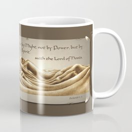 """Not By Might"" Coffee Mug"