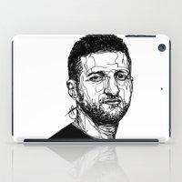 carl sagan iPad Cases featuring Carl Froch by Hollie B