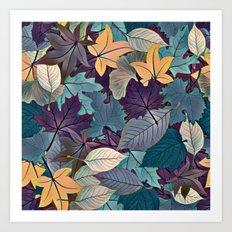 Leafy Goodness Art Print