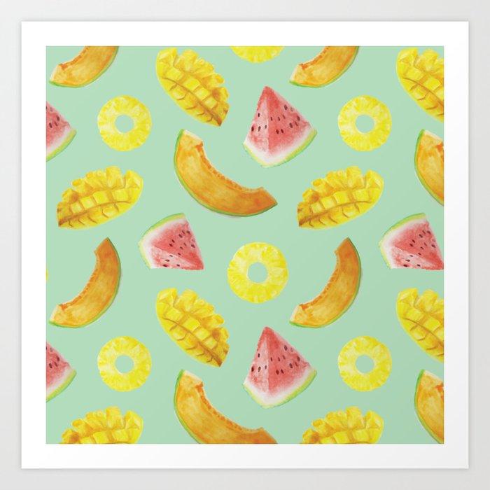 Nature's Candy Pattern Art Print