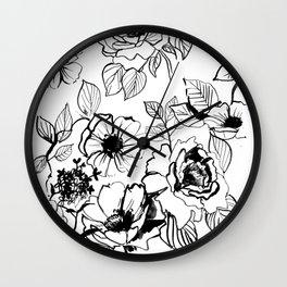 florid Wall Clock