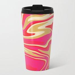 Abstract Fluid 20 Travel Mug