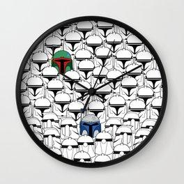 Like Father Like Sons Wall Clock
