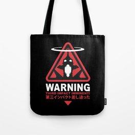 Third Impact Evangelion Tote Bag