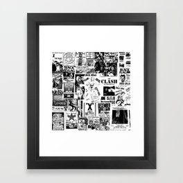 PUNK Therese Framed Art Print