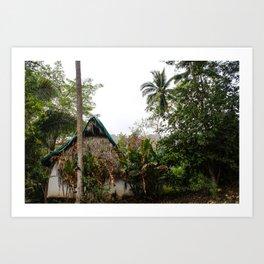 Dreamy Mexican Casa Art Print