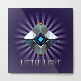 Little Light Metal Print