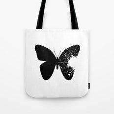 Butterfly Splatter 2 Tote Bag