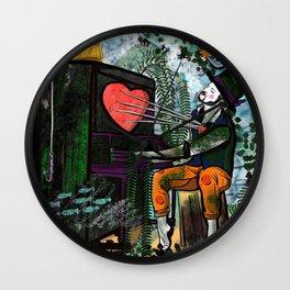 Piano Man Wall Clock