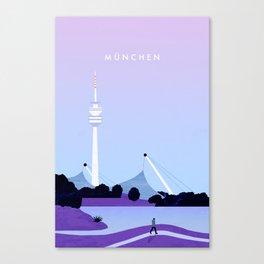 München Canvas Print