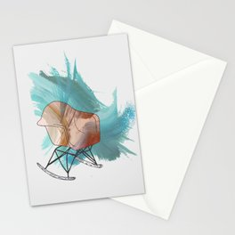 Chair Icon Stationery Cards