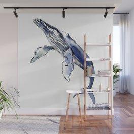 Humpback Whale, whale sea world desocr whale home decor florida beach Wall Mural