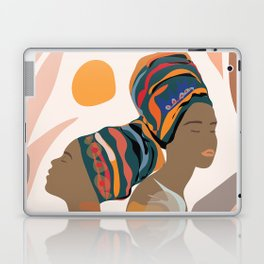 Women with the Turbans Laptop & iPad Skin