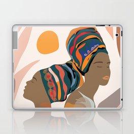 Women with the Turbans Laptop & iPad Skin