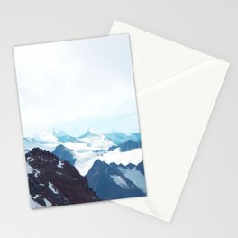 No limits - mountain print Stationery Cards