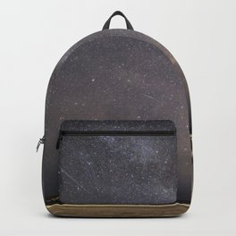 Shooting stars and the Milkyway Backpack