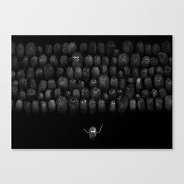 Fingerprint I Canvas Print