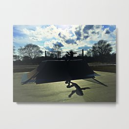 What is the Sacred Metal Print