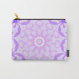 The Amethyst Mandala Carry-All Pouch
