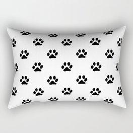 Footprints of My Pet Rectangular Pillow