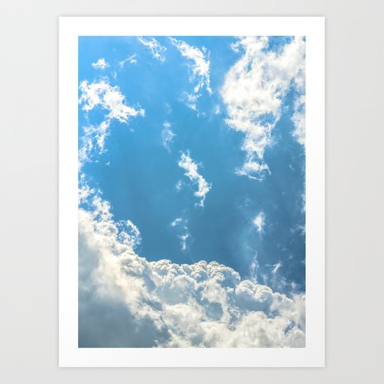 Floating on Air Art Print