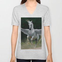 Pegasus Unisex V-Neck