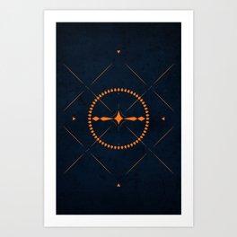 Dark Mistery Art Print