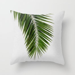 Palm Leaf I Throw Pillow