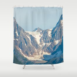 Boundary Range Mountains - 1 Shower Curtain