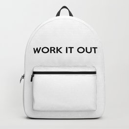 WORK IT OUT Backpack