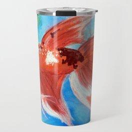 Koi Betta Fish Travel Mug