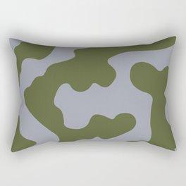 Vulcan Bomber (Camouflage) Pattern Rectangular Pillow