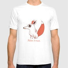 Herbert le renard Mens Fitted Tee White MEDIUM