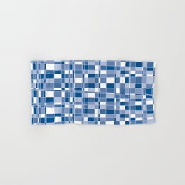 Mod Gingham - Blue Hand & Bath Towel