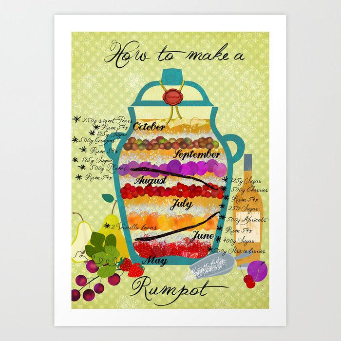 How to make a rumpot Art Print