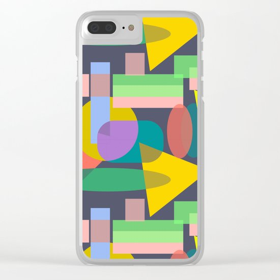 Playful I Clear iPhone Case