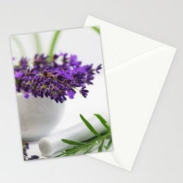 Creative lavender image for healing practice No.2 Stationery Cards