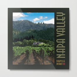 Napa Valley - Far Niente Winery, Oakville District Metal Print