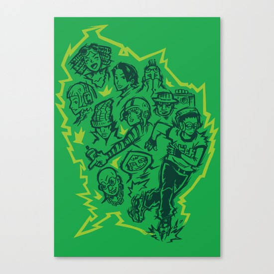 The GG's Canvas Print