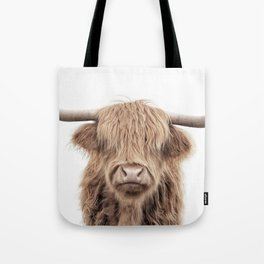 """Highland Cow """"This is Randall"""" Straight Up Tote Bag"""