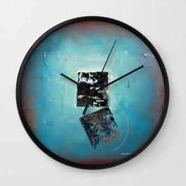 Of the Earth 2 by Nadia J Art Wall Clock