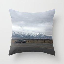 midwest sedan Throw Pillow