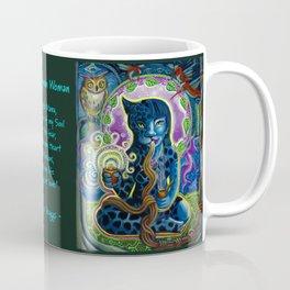 Jaguar Shaman Woman Coffee Mug