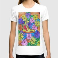 sneaker T-shirts featuring SNEAKER OF PEACE AND LOVE by Manuel Estrela 113 Art Miami