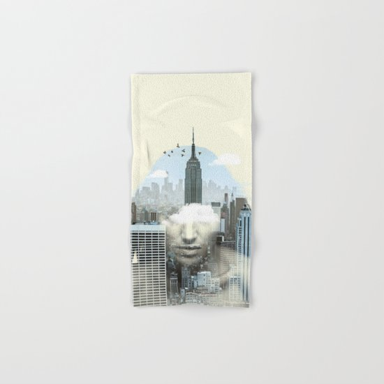New York City Shift Hand & Bath Towel